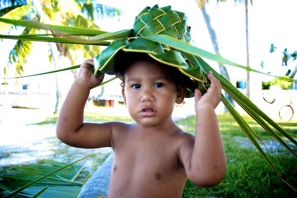 3418f4cb34c Swell Voyage » The more you know the less you need  Palm frond hats!