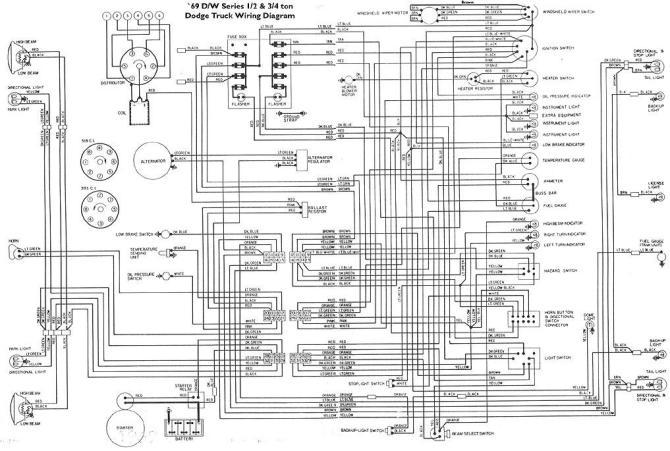 dodge van wiring diagram for 72  center wiring diagram