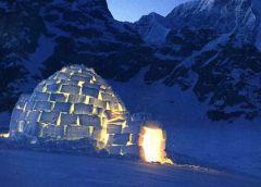 Как пережить холодную ночь без палатки