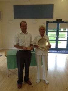 Champions Manor Plate Winner - Grace Alum Runner up - Dennis Wheeler