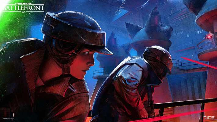 Concept art for Battlefront (Endor bunker).