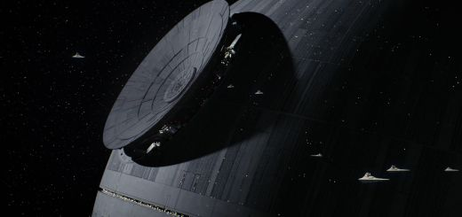 Final touches being put on the Death Star.