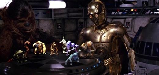 Holochess in Star Wars.