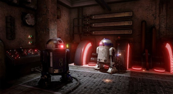 R2-D2 in Unreal 4.