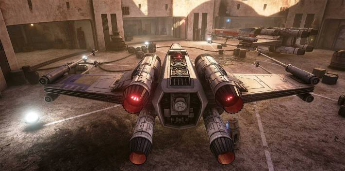 X-Wings in Unreal 4.