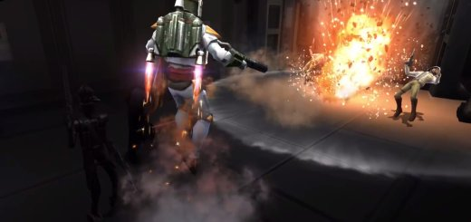 Boba Fett in Galaxy of Heroes.