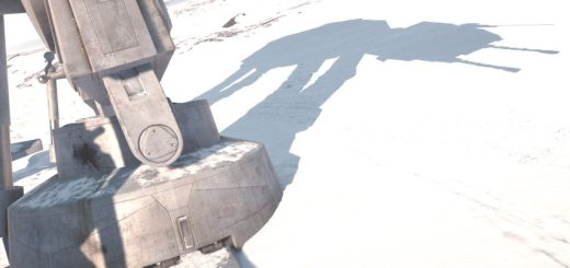 An AT-AT in Battlefront.