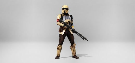 A Shoretrooper Captain in Battlefront.