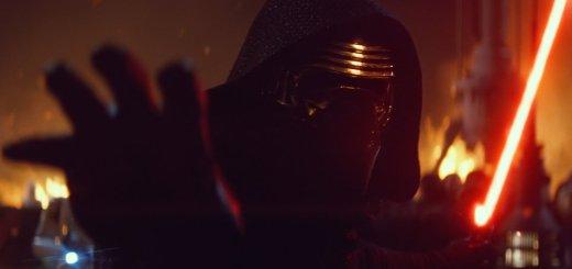Kylo Ren in the Force Awakens.