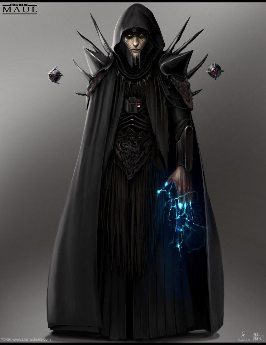 Sith Emperor concept art.
