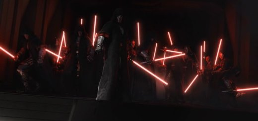 A gaggle of Sith in the SWTOR Deceived trailer.