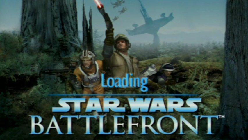 Load screen from an original Battlefront alpha demo build.
