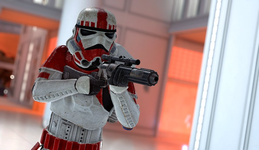 A shock trooper on Bespin by Cinematic Captures.