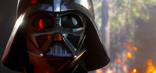 Darth Vader in the first Battlefront trailer.