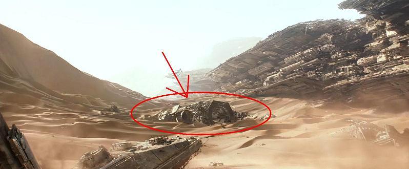 Une capture d'écran de Star Wars : Le Réveil de la Force