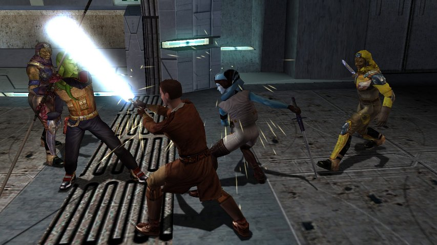 Promo image from the first KOTOR game.