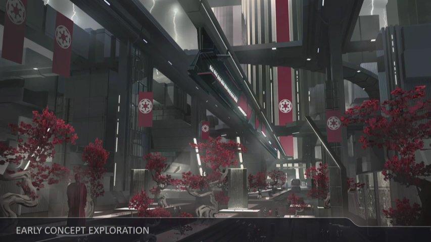 Battlefront II Vardos concept art.