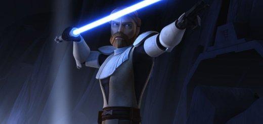 Obi-Wan Kenobi in The Clone Wars TV show.