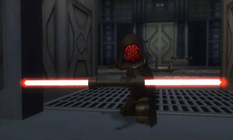 LEGO Star Wars Darth Maul promo image.