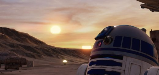 R2-D2 in Trials on Tatooine.