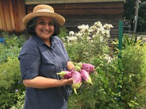 Globe Times - Maitreyi Egg Plant