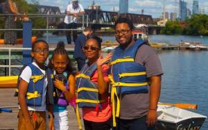 Globe Times - Family with lifejackets
