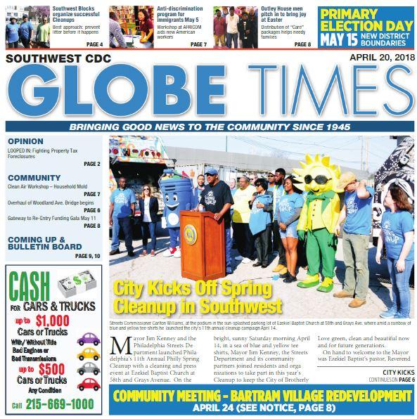 Globe Times April 20, 2018