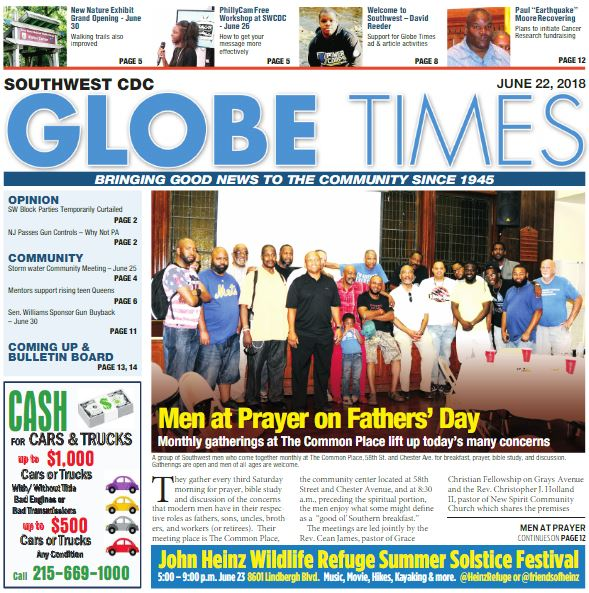 Globe Times June 22, 2018 issue