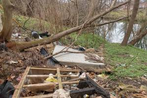 Globe Times - Darby Creek Cleaned Up