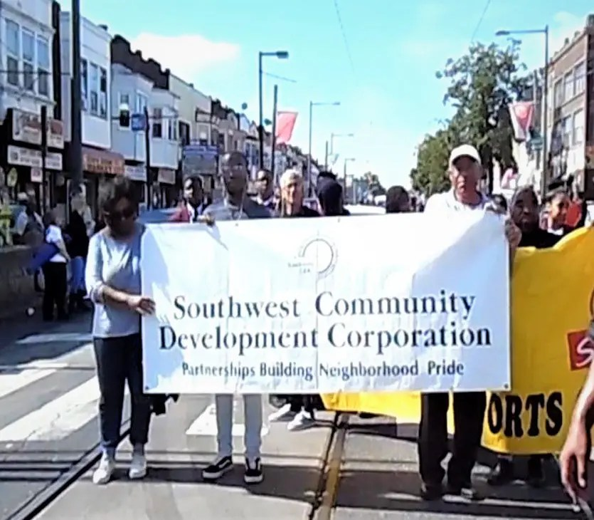 At last year's SW Pride Day, members and friends of Southwest Community Development Corp. marched with other community leaders, agency representatives, schools, and drill teams. Unlike previous Pride Days, marchers will begin the 2019 Parade at the Woodland Village Plaza at 61st Street and Woodland Ave., starting at 11:00 a.m. on September 15