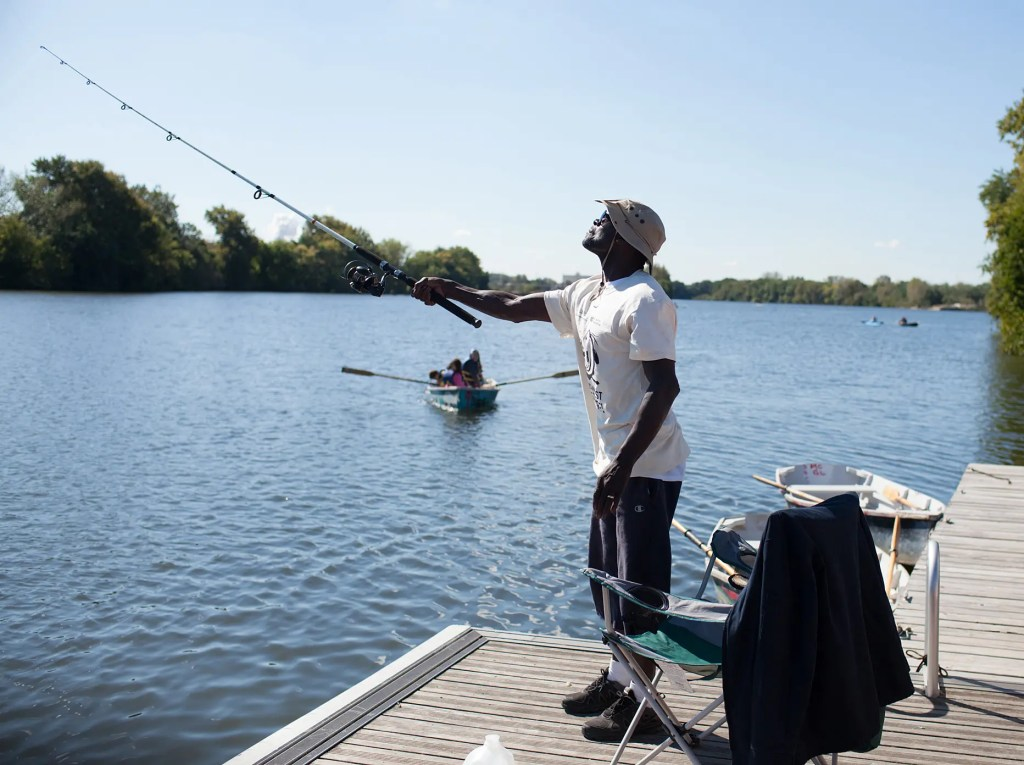Residents of Southwest Philadelphia have enjoyed fishing on the tidal Schuylkill River for generations.