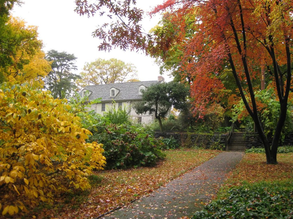 Fall brings an incredible display of colorful foliage at Bartram's Garden.
