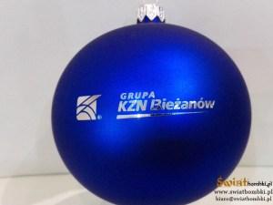 balls with logo kzn bieżanów, engraved