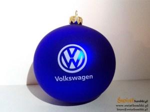 bombki firmowe Volkswagen z logo