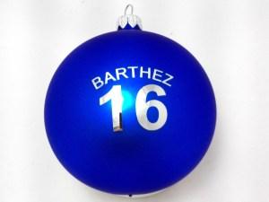 bombki z personalizacją logo barthez