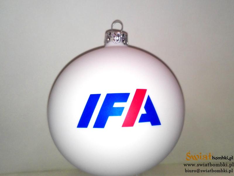 white printed balls IFA