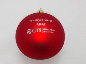 Christmas balls GTS, 80mm sizes
