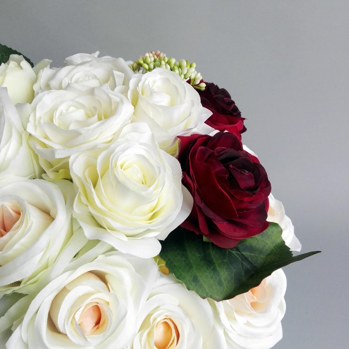 flower box biały