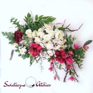 Girlanda kwiatowa kompozycja przestrzenna nr 208