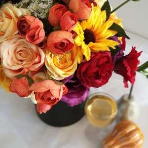 Pudełko z kwiatami Zakochani w Słońcu