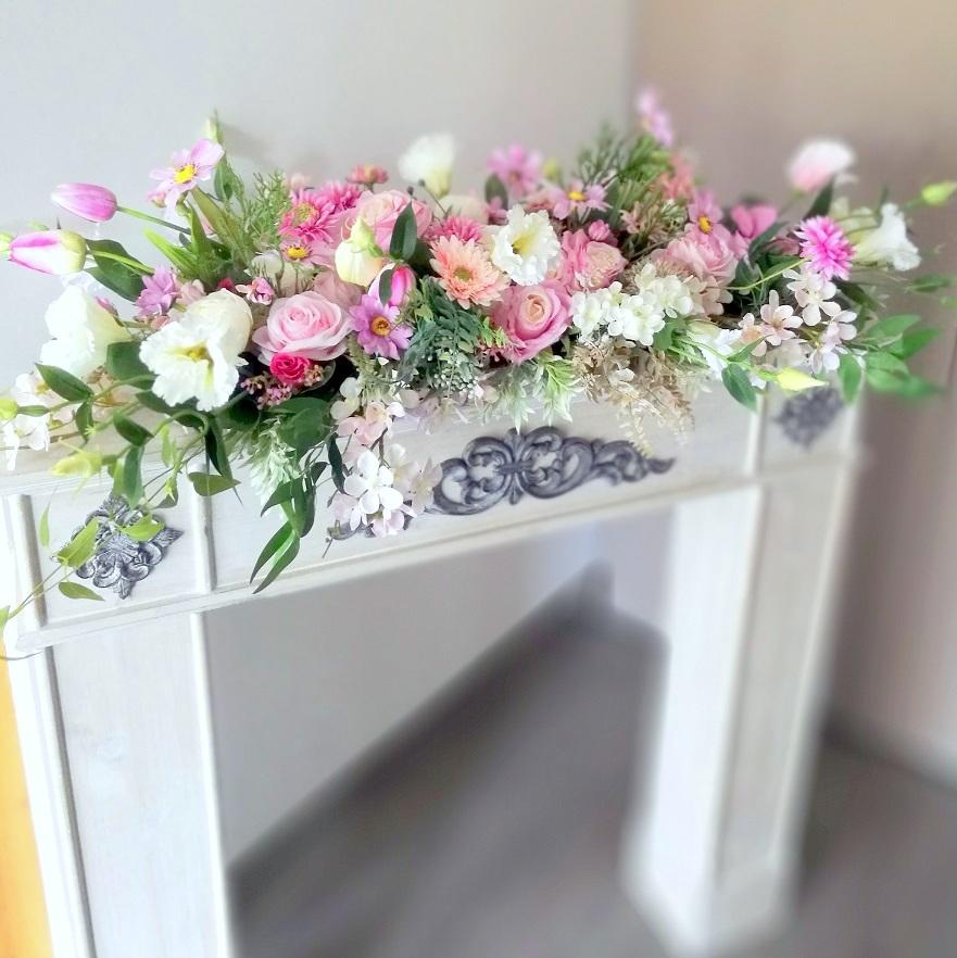 Dekoracja kwiatowa, stroik Radość nr 220