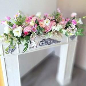 Dekoracja kwiatowa, stroik Radość nr. 220