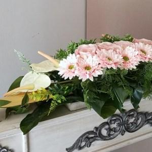 Dekoracja kwiatowa/stroik z anturium nr. 158