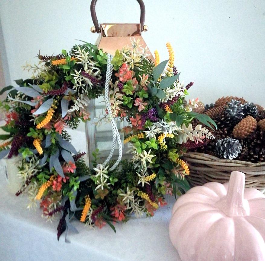 Jesienny wianek z wrzosami Tęcza nr. 95