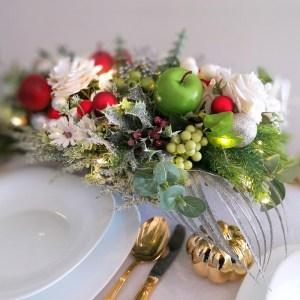Stroik świąteczny Radosna chwila nr 241