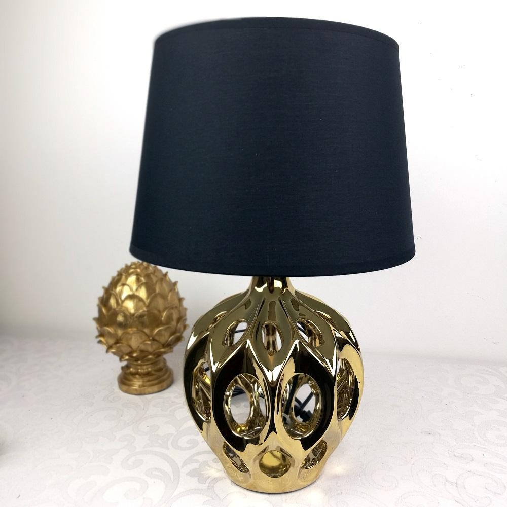 Elegancka lampa stołowa
