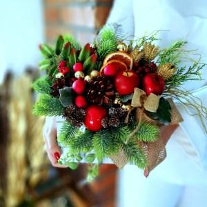Flower box koperta świąteczna nr 215