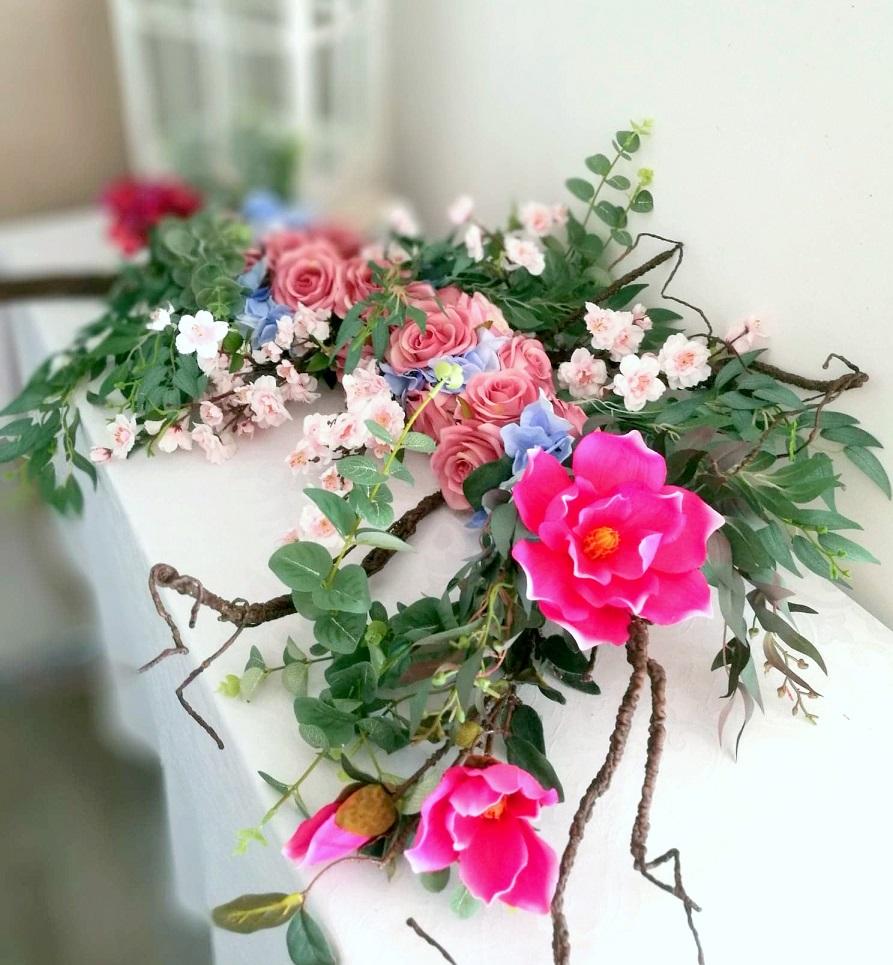 Girlanda kwiatowa Dla księżniczki nr. 289
