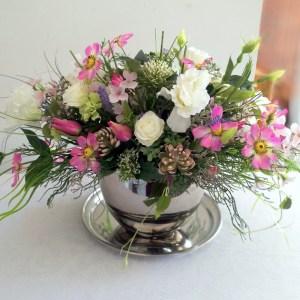 Kompozycja kwiatowa Romantyczne chwile nr 320