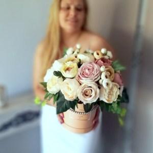 Flower box Słoneczne piwonie nr 319